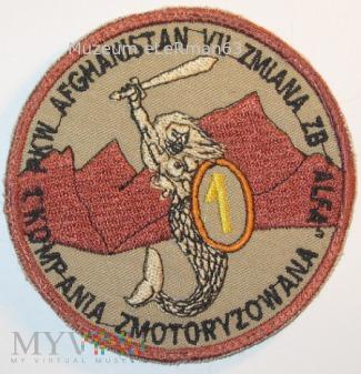 GB ALFA 1 kpzmot. PKW ISAF Afganistan VII zmiana.