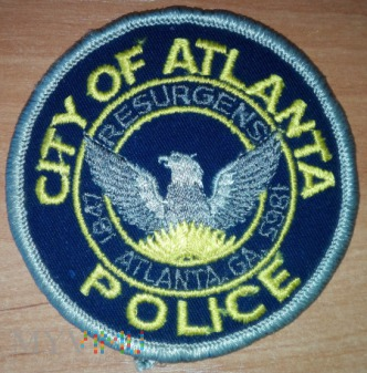 Atlanta miejska policja