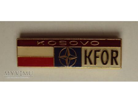 Odznaki pamiątkowe KFOR