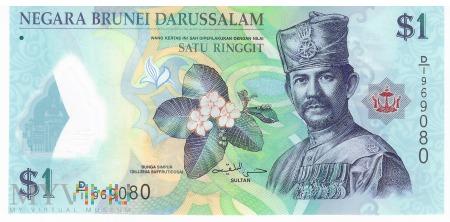 Brunei - 1 ringgit (2011)