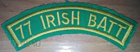 77 Irish Battalion