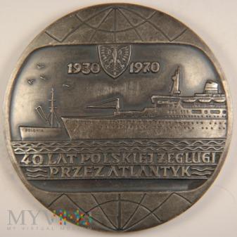 1970 - 21/70 Sr - 40 lat Polskiej Żeglugi przez At