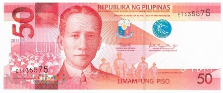Filipiny - 50 pesos (2018)