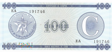 Kuba - 100 pesos (1985)