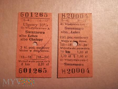 Bilety Kartonikowe