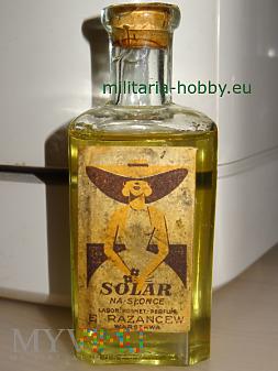 Olejek do opalania Solar