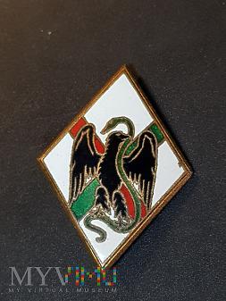Odznaka 1 Pułku Legii Cudoziemskiej - Francja