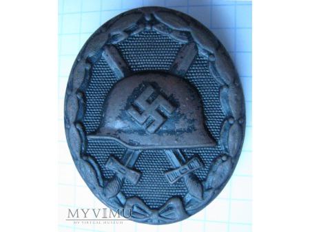 Odznaka za rany i kontuzje - czarna
