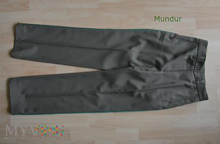 Mundur wyjściowy SG - spodnie damskie