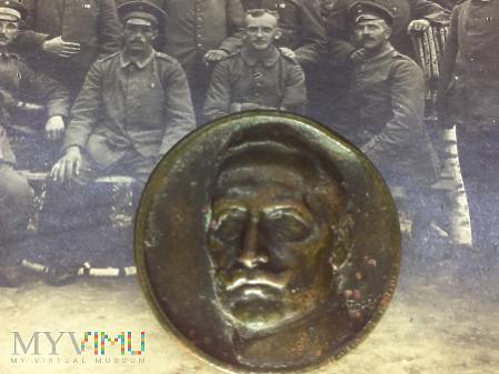 Wilhelm II patriotyczna przypinka