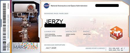 Duże zdjęcie Bilet na Marsa