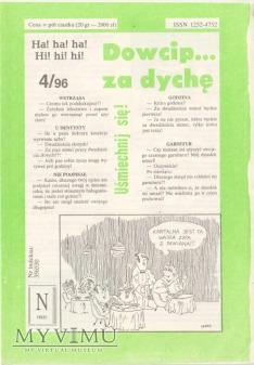 Dowcip...za dychę 4/96