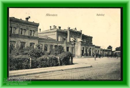 OLSZTYN Dworzec kolejowy