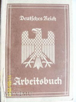 ARBEITSBUCH - NIEMIECKA KSIĄŻKA PRACY 1-model