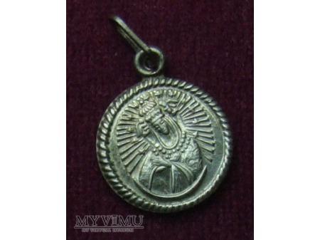 Duże zdjęcie Medalik z Matką Bożą Ostrobramską