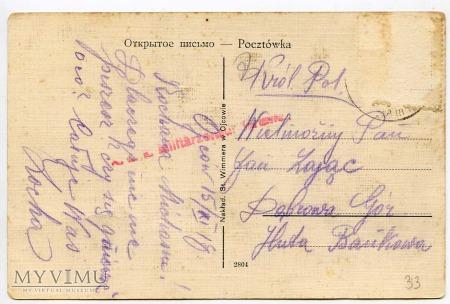 Pieskowa Skała od wschodu - przed 1918 r.