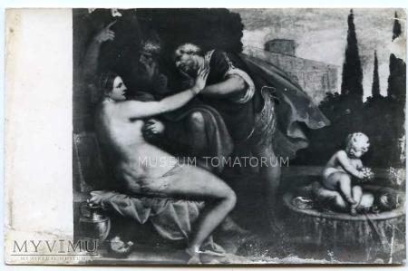 Duże zdjęcie Tycjan - Zuzanna i starcy