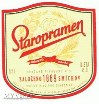 staropramen světlé pivo pro diabetiky
