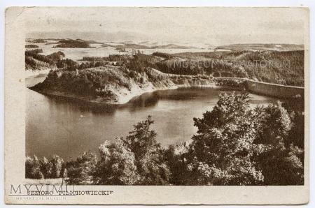 Duże zdjęcie Zapora na jez. Plichowickim - 1955