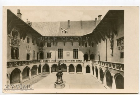 Kraków Uniwersytet Biblioteka Collegium Maius 1951