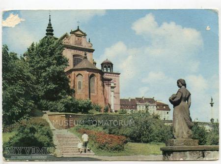 W-wa - Kościół św. Anny od skarpy - 1968