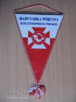 Duże zdjęcie Proporczyk - Marynarka Wojenna RP