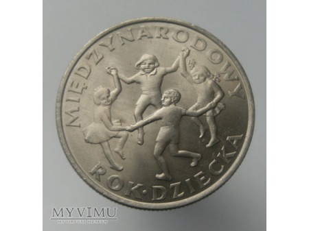 Między Nardowy Dzień Dziecka, 20 zł, 1979 rok.