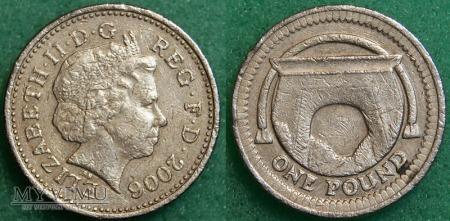 Wielka Brytania, 1 POUND 2006