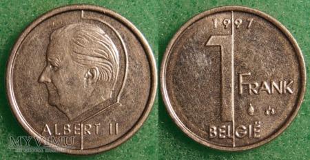 Belgia, 1 Franc 1997
