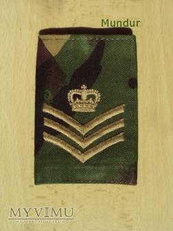 Wieka Brytania-oznaka stopnia: staff sergeant