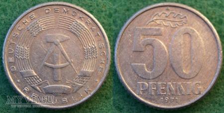 Niemcy, 50 PFENNIG 1971