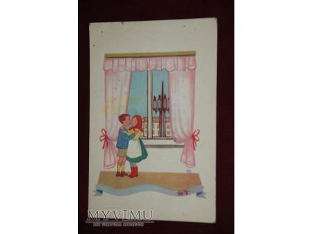 Dziewczynka i chłopczyk - 1952