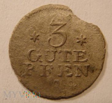 3 GUTE PFEN 1764