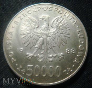 50000 złotych - Józef Piłsudski