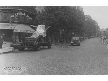 1. Aufklärungs-Abteilung ; Der Zieg - Paris