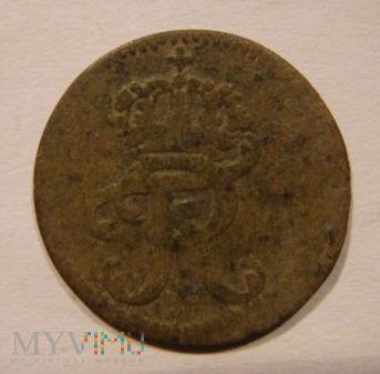 IIII PFENNIG 1705 - 1706 Fryderyk I, Minden