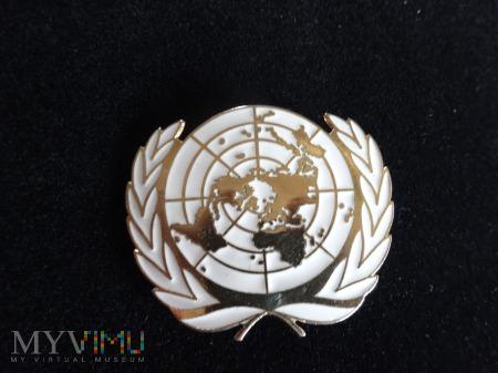 Odznaka na błękitne berety Wojsk Pokojowych