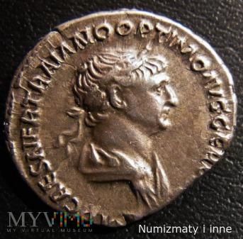 Duże zdjęcie denar Trajana
