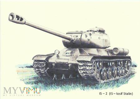 CZOŁG CIĘŻKI IS-2