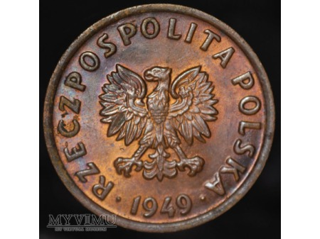 5 groszy 1949