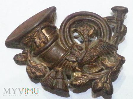 Emblemat naszywka z trąbką