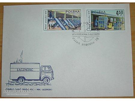 Dzień znaczka 1979, star poczty
