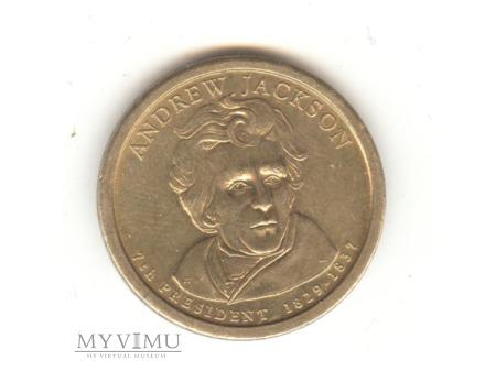 1 DOLAR USA ANDREW JACKSON