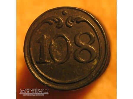 Guzik napoleoński nr 108
