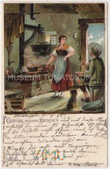 Dachshund - Jamnik towarzysz człowieka - 1898