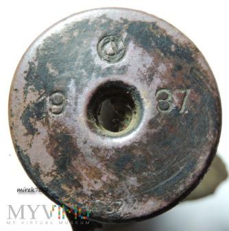 Łuska po naboju sygnałowym CvJ 1937 S37