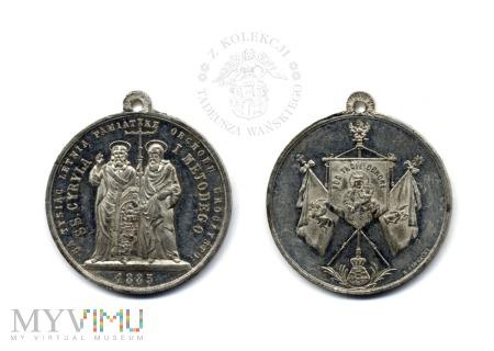 Medalik ss. Cyryla i Metodego (1885 r.)