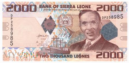 Sierra Leone - 2 000 leones (2010)