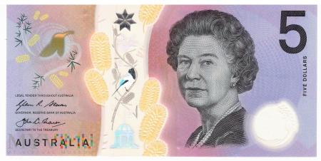 Australia - 5 dolarów (2016)