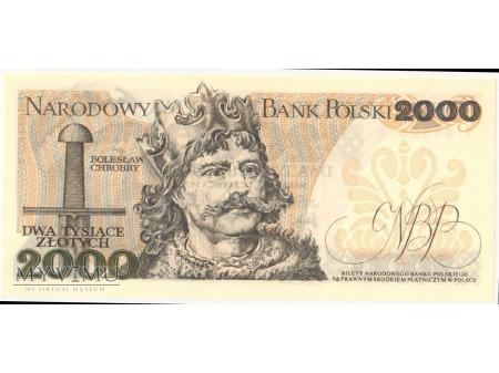 2000 złotych 1979 rok seria S